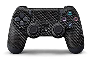 PS4 Controller Designer Skin for Sony PlayStation 4 DualShock Wireless Controller - Carbon