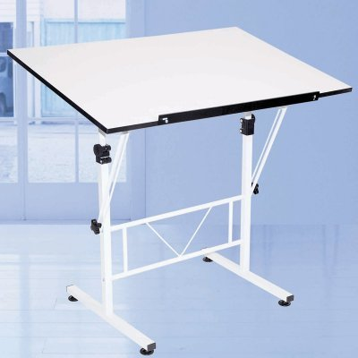 Folding Drafting Table front-1007751