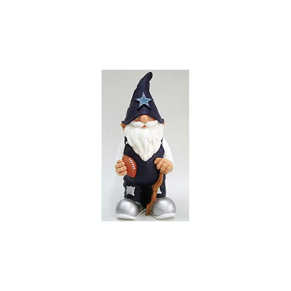 """Dallas Cowboys NFL 11"""" Garden Gnome  Sports Fan Outdoor Statues  Sports & Outdoors"""