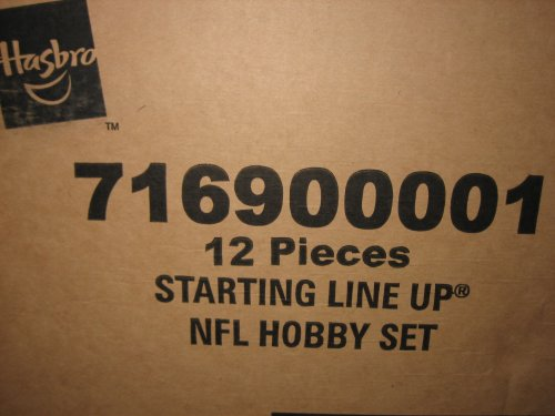 Buy Low Price Starting lineup 2000 Football NFL Hobby Factory Case of 12 Figures Sealed (B00208CFAS)