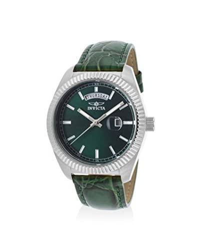 Invicta Women's 18268 Angel Green/Green Leather Watch As You See