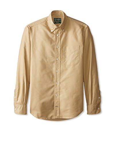 Gitman Vintage Men's Solid Button Down Sportshirt