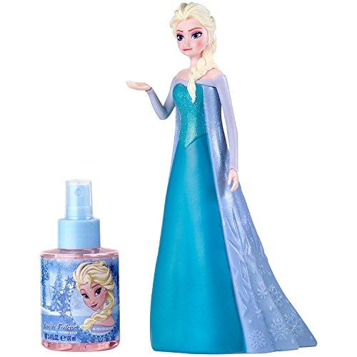 Frozen La Reine des Neiges Coffret Eau de Toilette 100 ml + Figurine 3D