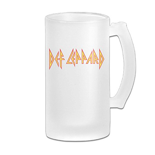 MASTER Def Leppard New Wave Heavy Metal Band Beer Glass Mug Set (Def Leppard Tickets compare prices)