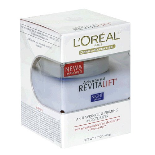 L'Oreal Paris Advanced RevitaLift Night Cream, 1.7 Ounce