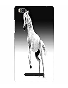 Bagsfull Designer Printed Matte Hard Back Cover Case For XIAOMI MI4 MI 4