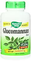 Natures Way Glucomannan Root 665 mg 180 VCaps