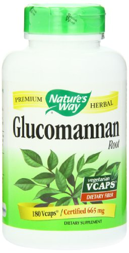 Nature'S Way Glucomannan Root, 665 Mg, 180 Vcaps