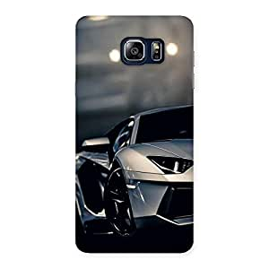 Gorgeous Royal Car Multicolor Back Case Cover for Galaxy Note 5