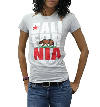 quot california republic quot design sleeve grey