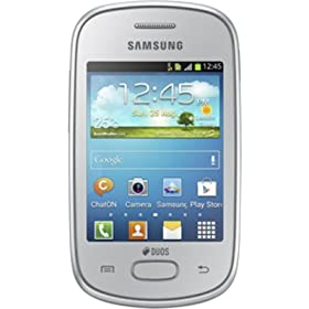 Samsung Galaxy Star S5282 Silver Samsung Galaxy Star S5282 Silver available at Amazon for Rs.4480