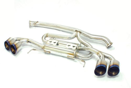 MXP MXSPR35S Cat-Back Exhaust System for Nissan GT-R