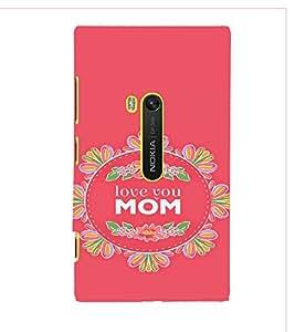 PrintVisa Mom Mother Quotes Design 3D Hard Polycarbonate Designer Back Case Cover for Nokia Lumia 920