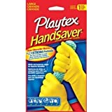 Playtex Gloves HandSaver Gloves: Large 2 Pairs