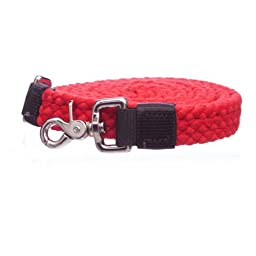 Cotton Roping Rein available NEW Colors : Red