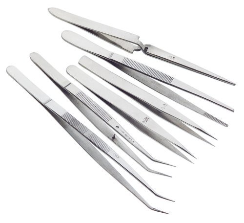 Woodstock-D3288-Tweezer-Set-6-Piece