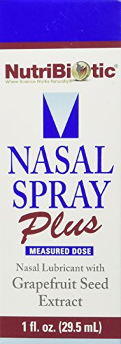 NUTRIBIOTIC Nasal Spray Plus, 1 oz. (Grapefruit Seed Extract Nasal compare prices)