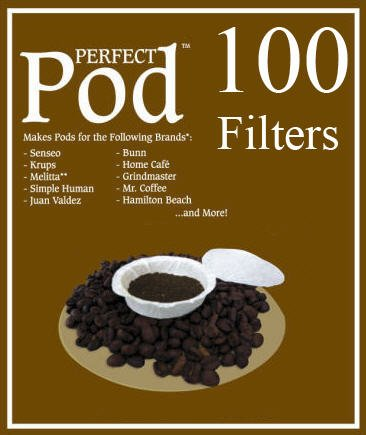 Perfect Pod Filters 2 Pack - 100 Total Filters