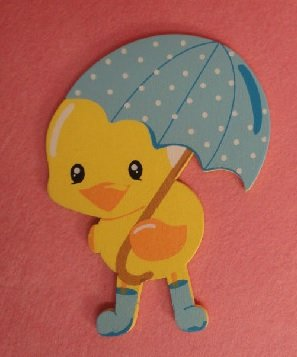 factory-direct-craft-package-of-10-flat-back-finished-blue-rainy-chick-wood-cutouts-for-crafting-cre