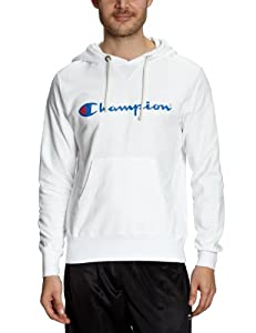 Champion Sweat à capuche Homme blanc M