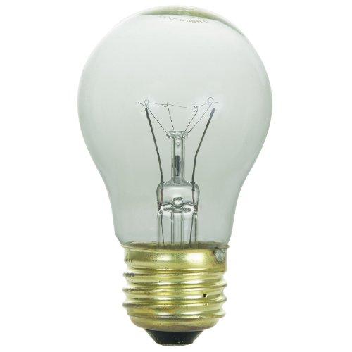 Sunlite 60A15/CL/3/CD1 Incandescent 60-Watt, 130 Volt, Medium Based, A15 Appliance Bulb, Clear (60w Appliance compare prices)