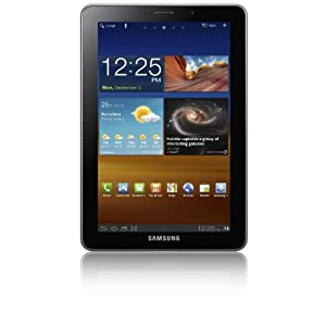 Samsung Galaxy Tab 7.7 inch Tablet (16GB, WLAN, 3G, GPS, Android 3.2) - Light Silver