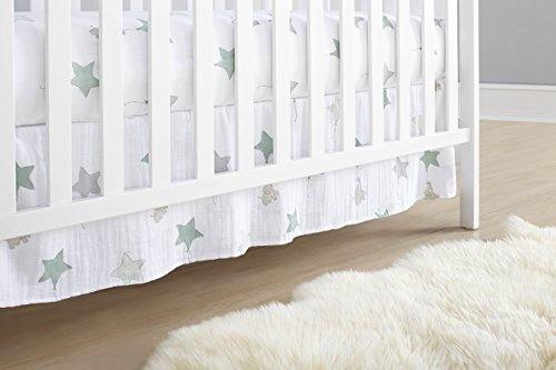 aden + anais Classic Crib Skirt, Up Up and Away