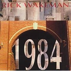 La pochette de 1984, de Rick Wakeman