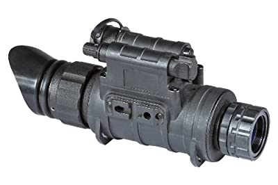Armasight Sirius GEN 2+ QS MG Quick Silver White Phosphor Multi-Purpose Night Vision Monocular with Manual Gain, Black