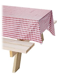 Coleman Vinyl Tablecloth (Red)