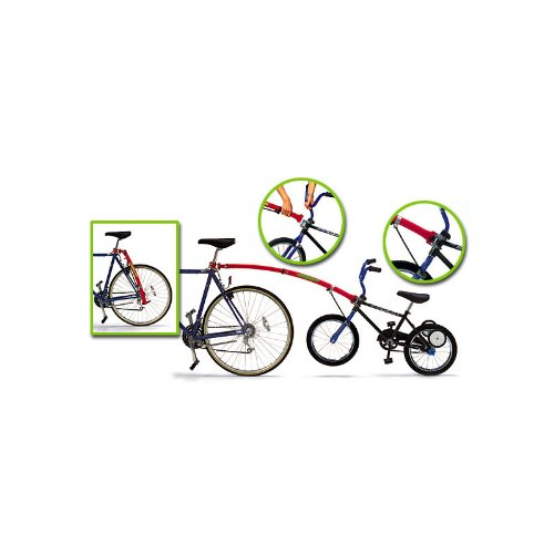 Great Deal! Trail Gator Bicycle Tow Bar in Black, Red, or Blue