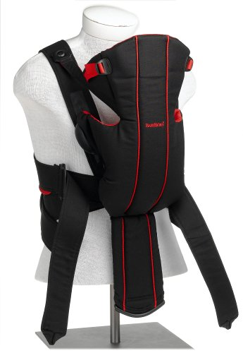 BABYBJÖRN Baby Carrier Active, Black/Red