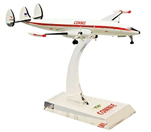 Aircraft scale model, L1049 Connie, Scale 1:200 (with Stand & gear)