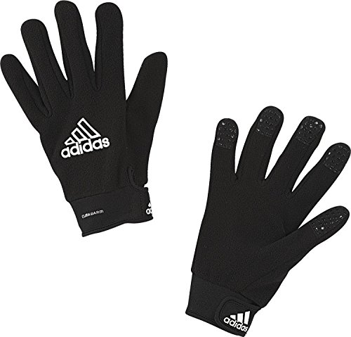 adidas Climawarm Fieldplayer Gloves, Black/White, Size 11