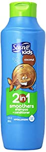 Suave Kids 2 in 1 Shampoo and Conditioner, Cowabunga Coconut, 22.5 Fl Oz