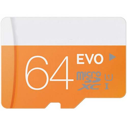 Lowest Price! floolybuelz 64GB EVO Class 10 Micro SDXC up to with Adapter& USB CARD READER
