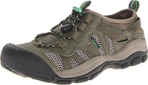 Keen Women'S Mckenzie Water Shoe,Burnt Olive/Irish Green,10.5 M Us front-964666