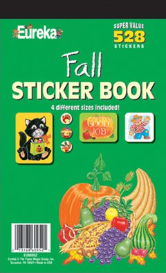 Eureka Fall Sticker Book - 1