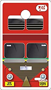 PrintStop BEST Bus Nokia X / X+ Back Cover (Multicolor)