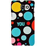 For Samsung Galaxy On7 (2016) Colored Circle ( Colored Circle, Circle, You, Good Qutoes ) Printed Designer Back Case Cover By FashionCops