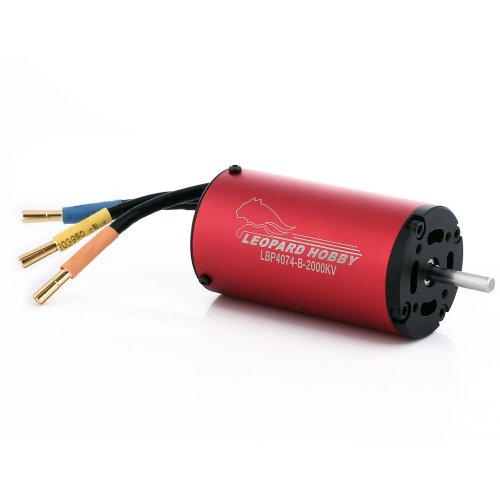 Leopard Brushless Inrunner 2000Kv 4-Pole for RC Boats and Giant Scale Planes (Leopard Brushless Motor compare prices)