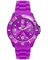 ICE-Watch - Montre Mixte - Quartz Analogique - Ice-Forever - Purple - Small - Cadran Violet - Bracelet Silicone Violet - SI.PE.S.S.09