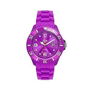 ICE-Watch - Montre Mixte - Quartz Analogique - Ice-Forever - Purple - Small - Cadran Violet - Bracelet Silicone Violet - SI.PE.S.S.09