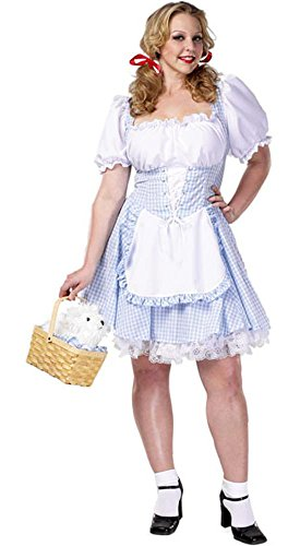 Wizard of Oz - Sexy Dorothy Adult Plus-Size Costume Size 18-20 X-Large (XL)