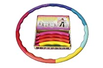 Weighted Sports Hula Hoop for Weight Loss - Acu Hoop 5L - 5 lb. large