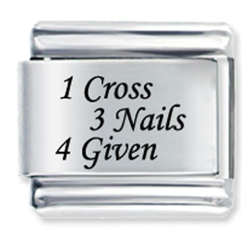1 Celtic Cross + 3 Nails By Price Italian Charm
