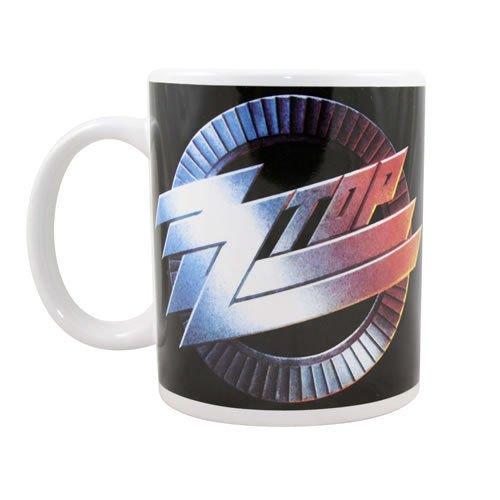 ZZ Top-Rock Band tazza regalo (Circle Logo)... Fantastica e resistente in confezione regalo.