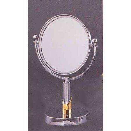 "Allied Brass 8"" Table Mirror 3X Mag Antique Bronze front-775847"