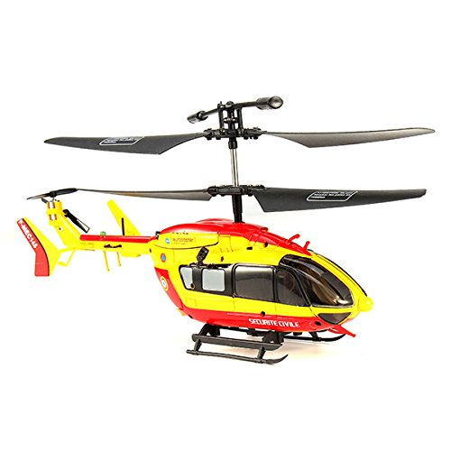 Bluelover-EC145-3CH-ichR-Legierung-Fernbedienung-RC-Hubschrauber-mit-Gyro