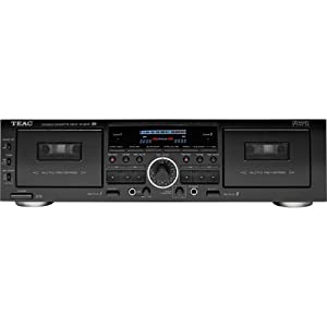 TEAC W865R Dual Cassette Deck with Pitch Control